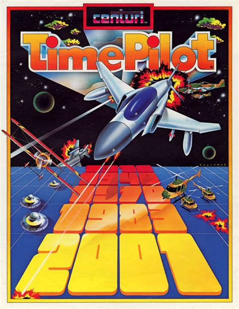 Time Pilot Video Arcade Game