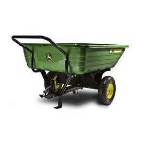 John Deere Bathroom Decor shop john deere 8 cu ft poly dump cart at lowes com