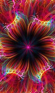 Download wallpaper 1280x960 fractal, flower, colorful ...