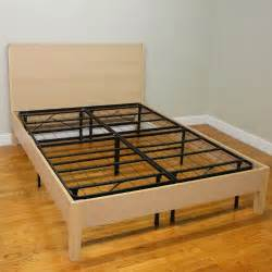 classic brands hercules platform heavy duty metal bed frame mattress foundation queen size