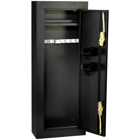 double door steel cabinet homak hs30136028 8 gun double door steel security cabinet