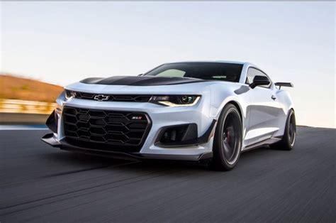 2019 Chevrolet Camaro Spy Photos, Price, Release date
