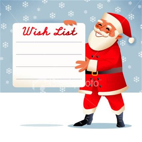 Dear Santa (or My Friends That Wanted To Be My Santa), (my Yearly Wishlist)  Notes From A Plain