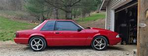 """93 Mustang LX 5.0 """"Notchback"""" for sale: photos, technical specifications, description"""