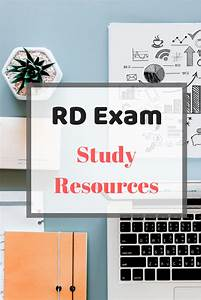 Registered Dietitian Exam Study Resources