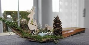 Adventskranz Edelstahl Dekorieren : aw53 kleine winterlandschaft als weihnachtsdeko kokosblatt dekoriert mit moos nat rlichen ~ Markanthonyermac.com Haus und Dekorationen