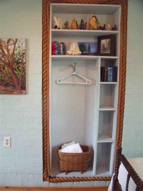 bedroom closet shelves decor ideas