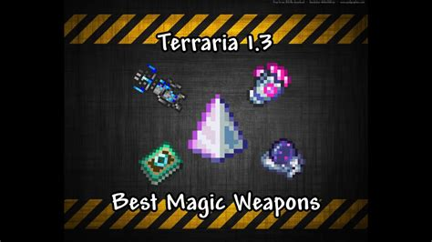 terraria weapons magic dps