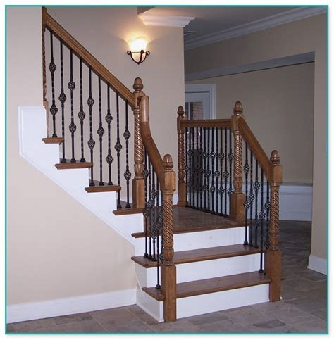 wrought iron spindles  staircase uk