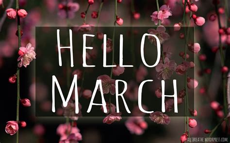 Hello March Images Pictures Photos Wallpapers for Facebook ...