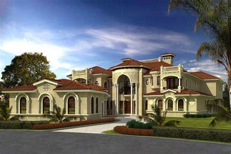 Luxury House Plan 7 Bedrms 7 5 Baths 11027 Sq Ft