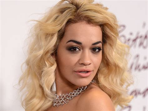 Rita Ora Exposes Right Boob For Glamour Magazine