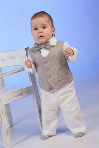 Boy ring bearer outfit linen suit baby boy natural clothes