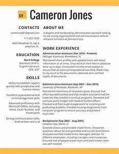 job resume template 2017 learnhowtoloseweightnet With best simple resume