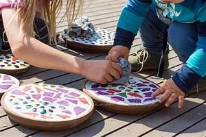Fliesen Selber Machen : diy mosaik deko f r den garten do it yourself ~ Watch28wear.com Haus und Dekorationen