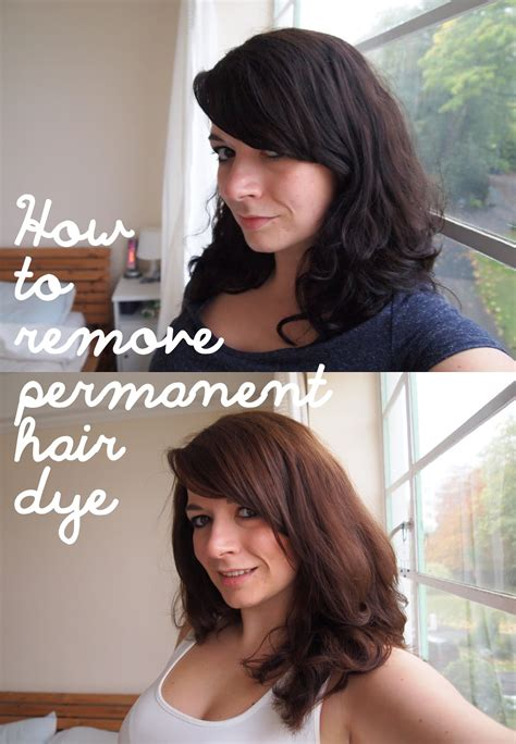 how to remove permanent hair color mace how to remove permanent hair dye a colour b4 review