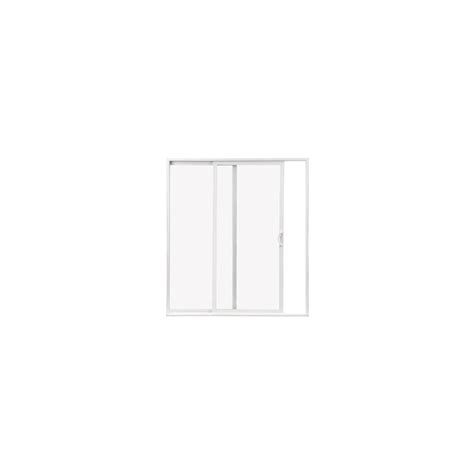shop thermastar by pella clear vinyl sliding patio door at