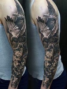 70 Unique Sleeve Tattoos For Men - Aesthetic Ink Design Ideas