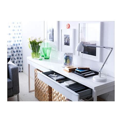 1000 ideas about white gloss desk on pinterest bureau