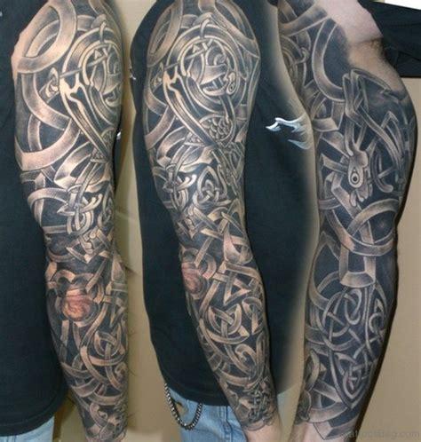 great celtic tattoos  full sleeve