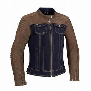 Blouson Moto Vintage Femme : blouson segura lady orina cuir et jean veste moto femme ce ~ Melissatoandfro.com Idées de Décoration