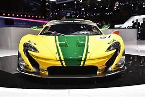 Mclaren P1 Gtr Race Car Debuts At The Geneva Motor Show 2015
