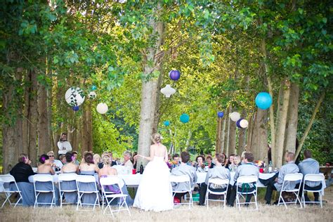 outdoor wedding venues decoration