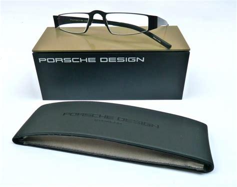 lesebrille porsche design porsche design lesebrille p8811 a schwarz