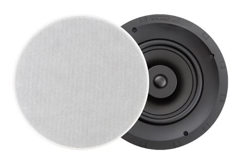 sonance in ceiling speakers sonance visual performance vp80r in ceiling speakers