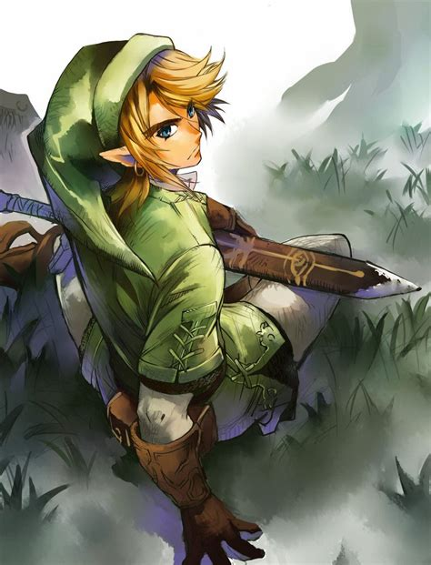 Link Fan Art Legendofzelda Cool Stuff Pinterest Fan