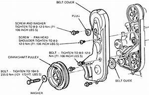 Solved  Timing Belt Markings Mazda B2500 1998