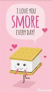 Cute Smore!!! | cute food | Pinterest | Food puns, Cards ...