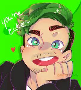 Jacksepticeye Cute Anime Fan Art