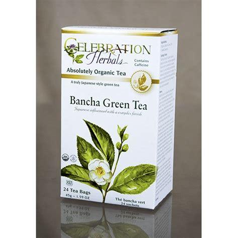 Tea Bancha Green Tea Bancha Celebration Herbals