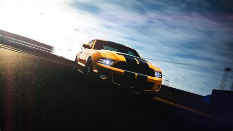 Ford Mustang Shelby Gt500 Gran Turismo 6 Wallpaper Hd