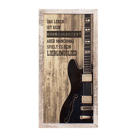 wandbild holz vintage bild wandbild kunstdruck gitarre vintage holz 23x49 cm