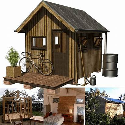 Shed Plans Wooden Working Garden Cabin Bebe