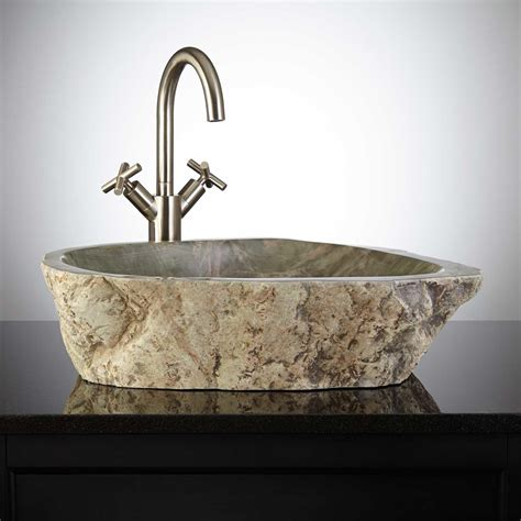Smooth Stone Vessel Sink  Signaturehardwarecom