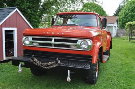 Up for auction is this australian 1939 dodge sedan chassis. 1970 Dodge Power Wagon W 300 Brush truck for sale - Dodge ...
