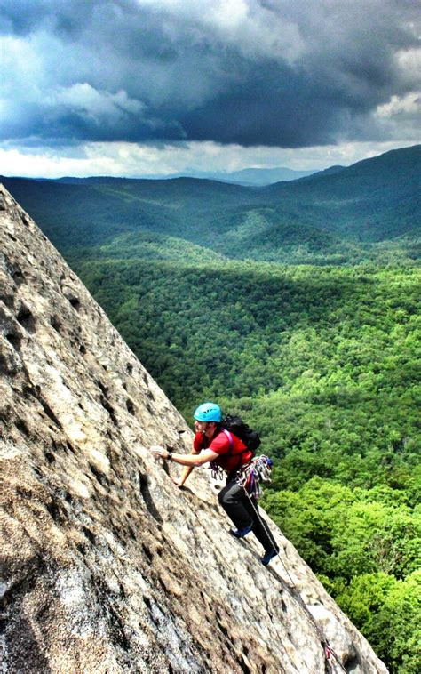 Locals Only Project Rock Climbing Brevard Land