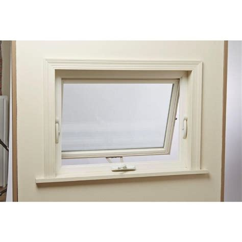 top hinge awning vinyl window heavy duty lock fresh air  ebay