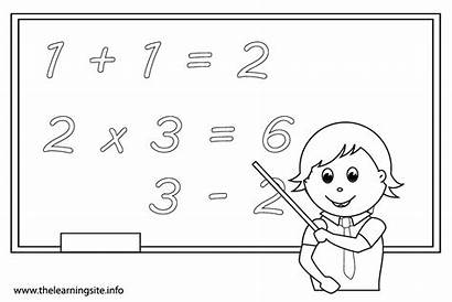 Math Coloring Pages Subject Outline Flashcards Subjects