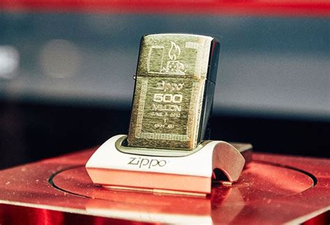 The Enduring Appeal Of The Iconic Zippo Lighter