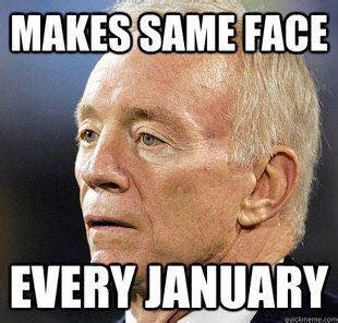 Jerry Jones Memes Giants Player Justin Pugh Mocks Cowboys For Losing To