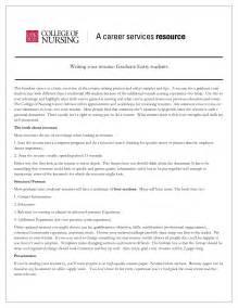 exles of nurses resumes for new graduates free resume sles nursing
