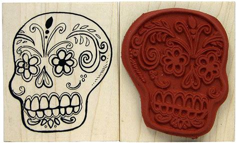 Day of the Dead stamp. Love my collection. | Day of the ...