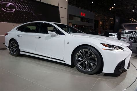 lexus ls   sport  handling packages