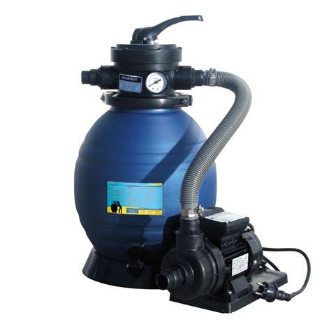 groupe de filtration 4m3 h sunbay sans pr 233 filtre pompe et filtre filtration piscine