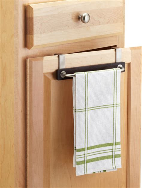 kitchen towel holder ideas formbu overcabinet towel bar contemporary by the