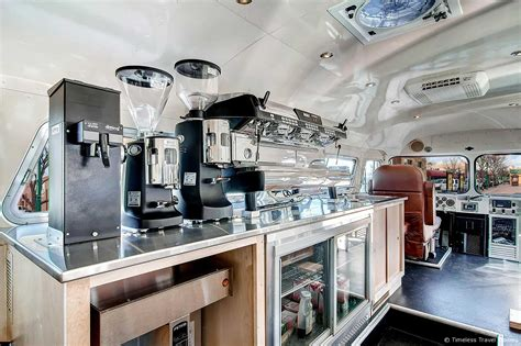 A subsidiary of the world's #1 natural foods chain whole foods market. The Allegro Coffee Company Flxible Bus by Timeless Travel Trailers